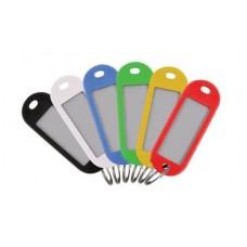 Бирки для ключей, набор 6 шт. MOS 67402М