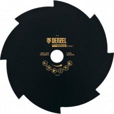 Диск для триммера, 230 х 25,4 толщина 1,6 мм, 8 лезвий// Denzel 96328