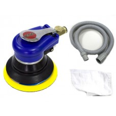 Пневмошлифмашина эксцентриковая ECO ASP10-150V с пылеотсосом (150мм, 10000 об/мин, 180 л/мин) ECO ASP10-150V