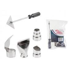 Набор аксессуаров для термовоздуходувки WORTEX (5 предметов (4 сопла + скребок)) (HGK05000011) WORTEX HGK05000011