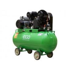 Компрессор ECO AE-1005-B1 (380 л/мин, 8 атм, ременной, масляный, ресив. 100 л, 220 В, 2.20 кВт) ECO AE-1005-B1