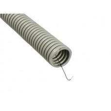 Труба гофр.ПВХ d 20 с зондом 100м легкая 500-020