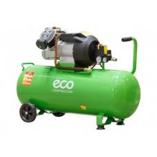 Компрессор ECO AE-1005-3 (440 л/мин, 8 атм, коаксиальный, масляный, ресив. 100 л, 220 В, 2.20 кВт) ECO AE-1005-3