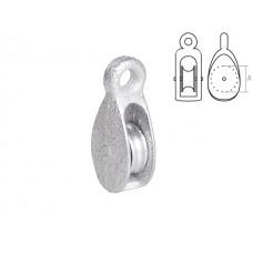 Блок одинарный BK-Simplex металл 15 мм STARFIX (SMP-74603-1) STARFIX SMP-74603-1