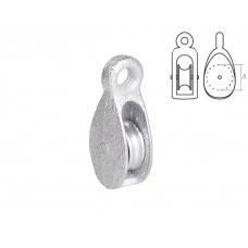 Блок одинарный BK-Simplex металл 20 мм STARFIX (SMP-74608-1) STARFIX SMP-74608-1