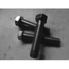 Болт М8х25 мм шестигр., цинк, кл.пр. 8.8, DIN 933 STARFIX (SM-72592-5) STARFIX SM-72592-5