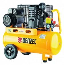 Компрессор  маслянный  ременной произв. 430л/м, мощность 2,3 кВт// DENZEL 58094