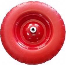 Колесо PU 250мм 4,1/3,5-4 D16 бескамерное не сим ступ.