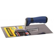 Гладилка штукатурная STAYER Eхpert 130х280 мм, нержавеющая c двухкомпонентной ручкой 0805