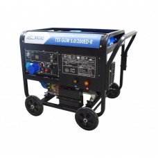 Генератор Инверторный бензиновый сварочный генератор TSS GGW 5.0/200ED-R TSS 22957