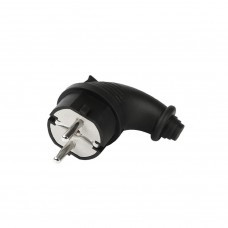Вилка Smartbuy вилка угловая каучук 2P+PE 1х16A 220-240V IP44 SBE-16-P09-R Smartbuy 654968