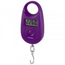 Безмен эл. Energy BEZ-150 до 25 кг, дел. 5гр, фиолетовый, ЖК дисплей (2хCR2032 в компл.) 11635 No Name 391674