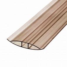 Профиль HP 8-10*6000мм коричневый