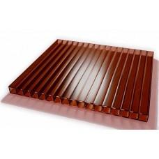 Поликарбонат 6000*2100*8 коричневый