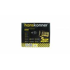 Дрель HID2145PL Дрель шуруповерт Hanskonner, 2 скор, мет.замк.патрон 13 мм, 22+1, 50 НМ, резин. кабел Hanskonner HID2145PL
