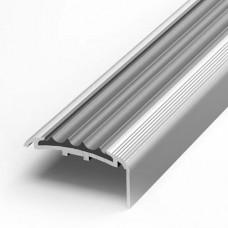 Угол алюминевый с резиновой вставкой ПУ71 (1800*20*40)