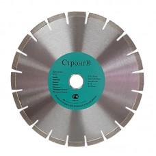 Диск алмазный 350/32/25.4/10 сегмент Strong СTД-18100350
