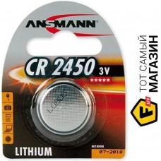 Батарейка CR2450 5020112-RU BL1 круглая,литиум  ANSMANN 779620