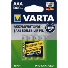 Аккумулятор Varta Ready2Use 05703.301.414 /R03 1000mAh Ni-MH BL4 ЗАРЯЖ Varta 449464