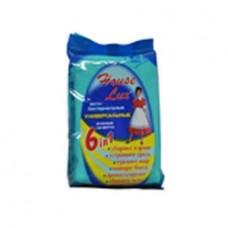 Салфетки влажные HL-48261 HOUSE LUX 6в1 универсальные антибактериальные (25х12см) в мягкой упаковке (80шт) АВАНГАРД /1/20 Авангард HL-48261