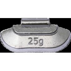 Грузик балансировочный для стального диска 25 гр. 1 шт.  225 CLIPPER 0225