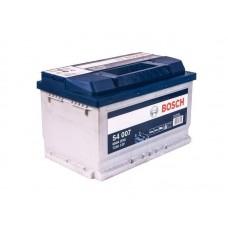 Аккумулятор  Silver 72 А/ч 572 409 068 обратная R+ EN 680A 278x175x175 S4 007 BOSCH 0 092 S40 070