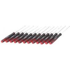 Приспособления для снятия сальников крючки в наборе с ювелирными отвертками, 12пр. (SL2.5х75, SL3. Forsage F-01211 15497