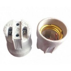 Патрон Ecola патрон керамический E27 Белый AB7SCWEAY ECO 637712