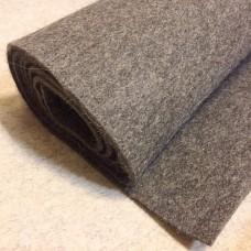 Войлок Т (тонкошерстный толщ.4-6 мм, шир.~1400 мм) тёмный ТУ