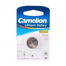 Батарейка лит. диск. спец. 3В 1шт CR2025-BP1  Lithium  Camelion 7762