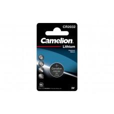 Батарейка лит.диск.спец.3В 1шт  CR2032-BP1 Lithium  Camelion 4654