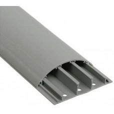 Кабель IEK кабель-канал 70х16 ЭЛЕКОР 2м напольный серый (42 м) (цена за 1м) CKK30-070-016-3-K03  517192