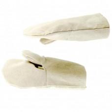 Рукавицы специальные х/б с двойным наладонником, 1 размер, Р// Сибртех 68124