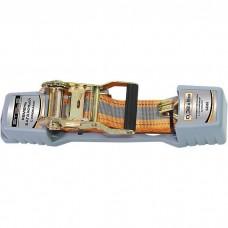 Ремень багажный с крюками, 0,038х5м, храповый механизм Automatic// Stels 54365