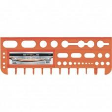 Полка для инструмента 47,5 см, оранжевая // Stels 90718
