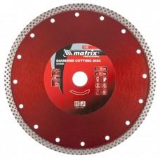 Диск алмазный отрезной сплошной, 230 х 22,2 мм, сухое/мокрое резание// Matrix 73136