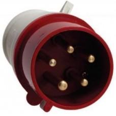 Вилка   переносная 014 3Р+РЕ 16А 380В IP44  ps-014-16-380 EKF 458334