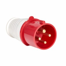 Вилка   переносная 024 3Р+РЕ 32А 380В IP44 ps-024-32-380 EKF 458335