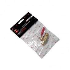 Кран 6925  шаровый (наружная резьба 3/84х3/8) Forsage SP019/3/8