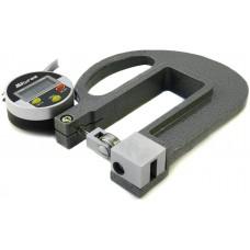 Толщиномер индикаторный электронный роликовый (0-10мм) 0,01 L100 CNIC