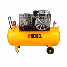 Компрессор DR5500/300 масляный ременный 10бар, 850л/м, 5,5кВт // Denzel 58069
