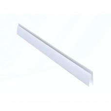 Профиль конечный L для панелей 10мм 3,0м Идеал Белый / 001 IDEAL Л10 001/БЕЛ