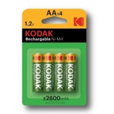 Аккумулятор  KODAK  AA/R6 2600mAh Ni-MH BL4