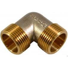 Уголок для компрессора резьба наружная  3/8 латунь MML06 Pegas 4303