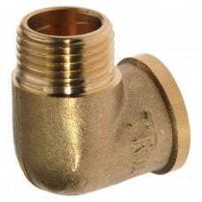 Уголок для компрессора резьба наруж. и внутр.1/4 латунь MEL06 Pegas 4311