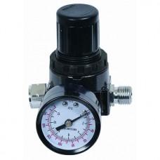 Регулятор давления  с манометром 1/4 Pegas 4602
