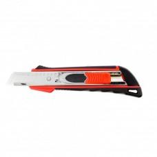 Выдвиж Нож, 18 мм выдвиж. лезвие QUICK BLADE мет. направл., двойная фикс., эргоном. двухком.рук.// Matrix 78936