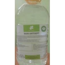 Антисептик для рук RAIN (упаковка 5л.) дезинфицирующая эффективность 95-99% (цена за литр)