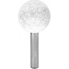 Шарошка абразивная (по металлу), хвостовик 6 мм, шар 25 мм MOS 36944М