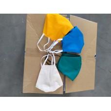 Повязка (маска) для лица бязь многоразовая